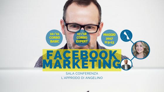 Questa immagine mostra un uomo davanti al pc per il Corso Facebook Marketing a Trapani 2017